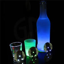 aliexpress com buy oobest led flashing light bulb bottle cup mat