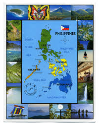 Phillipines Map Philippines Map U2013 Wild Postcards