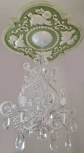 Nursery Chandelier 18 Best 34 95 Diy Sweet Dreams Ceiling Medallion Images On