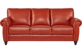 Cheap Red Leather Sofas by Affordable Cindy Crawford Leather Sofas Rooms To Go Furniture