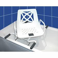 accessori vasca da bagno per anziani sedia girevole per vasca da bagno myco larghezza regolabile