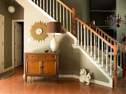 Stair Railings And Banisters Affordable Ways To Update An Entryway Hgtv