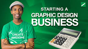 starting a graphic design business youtube