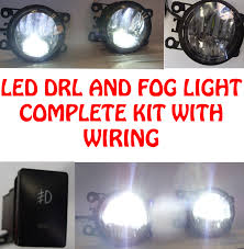 renault suzuki high power led drl and fog lights with wiring and switch suzuki