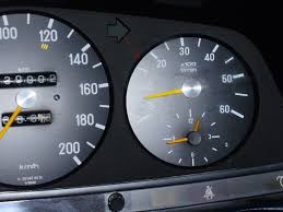 w123 mercedes benz 300d tachometer repair car instructions
