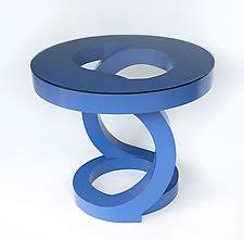 side pedestal tables crafted by artists artful home
