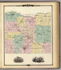 A Map Of Wisconsin by Map Of Iowa County State Of Wisconsin David Rumsey Historical