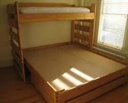 Convertible Bunk Beds Ruff Rider Convertible Bunk Bed King Custom Bunk Beds