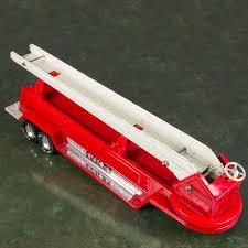tonka fire truck 50 nylint aerial hook n ladder 2 vintage nylint metal aerial