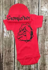modern georgia bulldog bedding set 140 georgia bulldog baby crib set georgia boy onesies georgia jpg