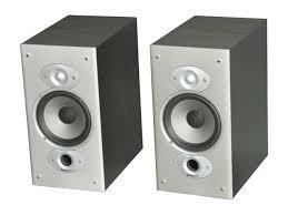 Polk Bookshelf Speakers Review Polk Audio Rti6 Bookshelf Speaker Pair Black Oak Finish Newegg Com