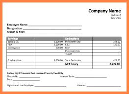 salary receipt template 4 salary payment voucher template salary slip