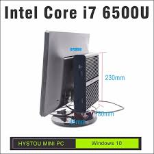 pc ordinateur de bureau hystou i7 skylake intel mini pc windows 10 i7 6500u petit