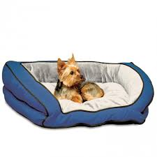 Dog Beds With Cover K U0026h Bolster Couch Bolstered Dog Bed With Microsuede