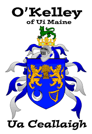 Family Crest Flags O U0027kelley Coat Of Arms