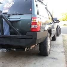 homemade jeep bumper jeep grand cherokee off road bumpers trailready b jeep grand