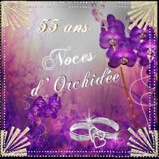 36 ans de mariage noce orchidee 55 ans create discover and awesome gifs on