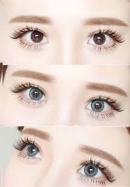 color contacts eyes halloween cosplay poppy style gray cl1083