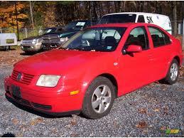 2002 tornado red volkswagen jetta gls sedan 20533488 photo 6