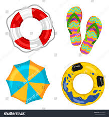 beach jeep clipart lifebuoy beach umbrella stepins stock vector 447534877 shutterstock