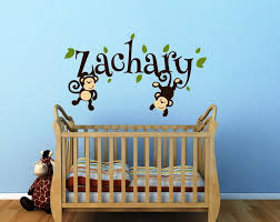 Nursery Monkey Wall Decals Nursery Monkey Wall Decals Pictures
