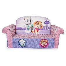 marshmallow paw patrol skye u0026 everest flip sofa wall u0027s furniture