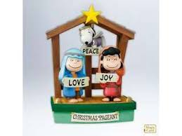 hallmark snoopy and the peanuts ornaments