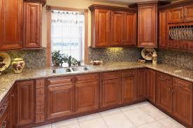 Kitchen Glazed Cabinets Glazed Cherry Kitchen Cabinets Bargain Outlet