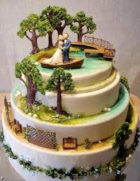 theme wedding cakes lanier islands weddings lake