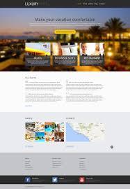 website template 46905 luxury hotel exouisite custom website