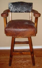 Brown Leather Bar Stool Cowhide Bar Stools Exotic Bar Stools U0026 Chairs We Beat Free Shipping
