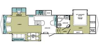 Forest River 5th Wheel Floor Plans 2010 Cardinal By Forest River Fifth Wheel Series M 3450rl Specs
