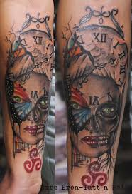 forearm skull tattoos browse worlds largest tattoo image gallery trueartists com