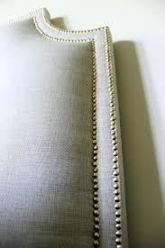 Fabric Nailhead Headboard Headboard Fabric Nailhead Headboard Grey Fabric Nailhead