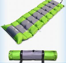 polyester fiber outdoor camping mat automatic inflatable mattress