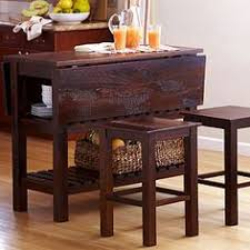 Drop Leaf Bistro Table Ridgewood Drop Leaf Pub Table With Wine Rack Morris Home