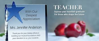 unique engraved gifts custom engraved plaques for teachers central