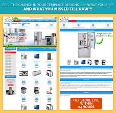 templates for ebay store designs to sell home appliance mobile