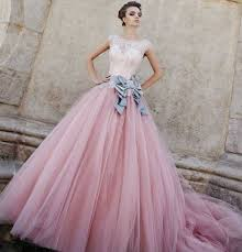 pink wedding dresses 1 white and pink wedding gown more than 1000