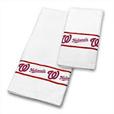 Sports Bathroom Accessories by Towel Set Baseball Team Logo Bathroom Accessories Sports