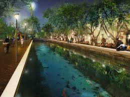 Park West Landscape by West 8 Iroje Wins Yongsan Park Competition In Seoul Archdaily