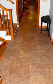 Laminate Flooring Examples Wine Drawer Ultimate Vinyl Tile For Kitchen With Dark Cabinet