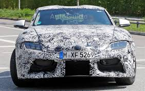 latest toyota 2018 toyota supra shows off production cues in latest spy photos