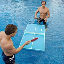pool and ping pong table floating pool ping pong table invented4you
