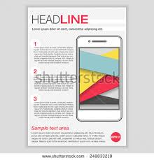 infographics elements creative brochure template design stock