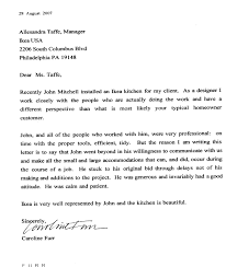 real cover letters that worked john mitchell renovations testimonials