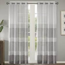 Striped Linen Curtains Ticking Stripe Curtains Wayfair