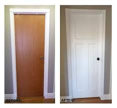 Best Interior Door Diy Flat Panel Door Dress Up Inspiration Diy Projects Flat Panel