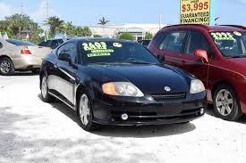 2003 hyundai tiburon v6 2003 hyundai tiburon gt v6 2dr hatchback in stuart fl affordable