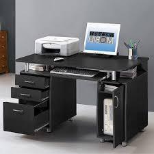 Small Black Desk Canada Techni Mobili Super Storage Computer Desk Canada 757